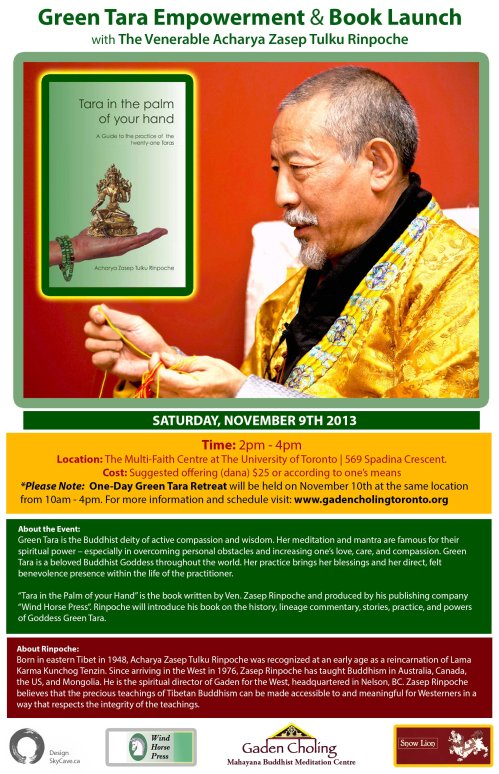 Green Tara Book Launch & Empowerment