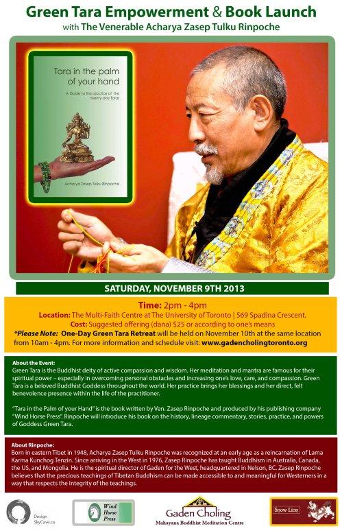 Green Tara Book Launch & Empowerment